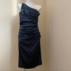 Suzi Chin Off the Shoulder Cocktail Dress